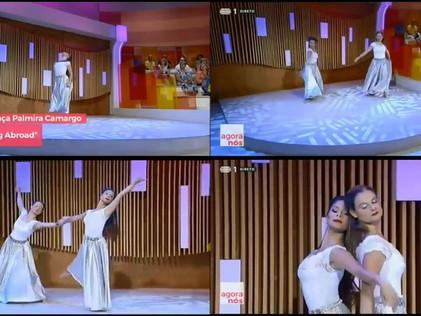 Alunas de Espaço Dança Palmira Camargo participaram no programa Nós Agora RTP.