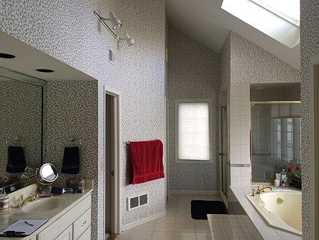 indianapolis geist master bathroom remodel before