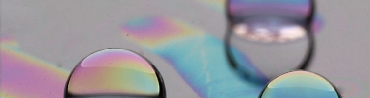 Oleoplaning droplet