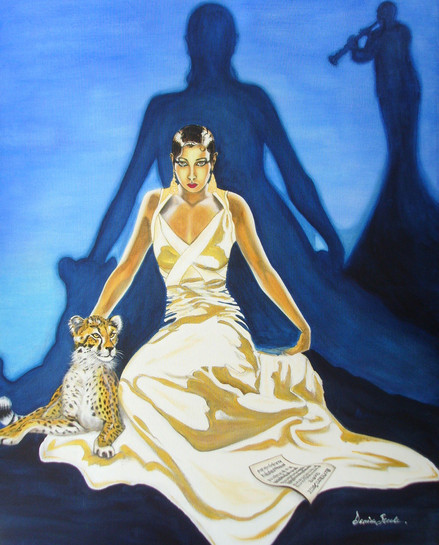 Blues my Naughtie Sweetie Gives to Me - Josephine Baker Series