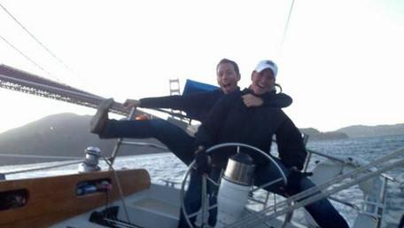 Beginning of Night Sailing