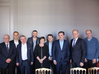 """Baugenehmigung im Fokus: """"Wir wollen einfachere Prozeduren"""" - Spitzentreffen von CSP und cdH-Ministe"""