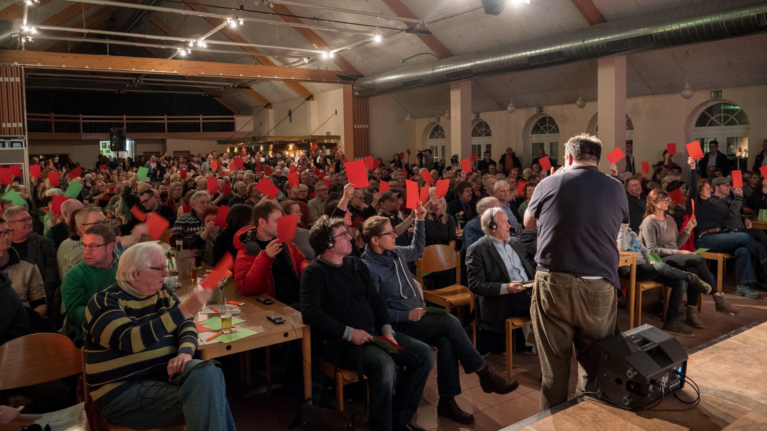 Bergbau Diskussionsabend Kelmis Foto-7