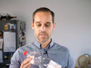 """Colin Kraft: """"Wie wir 1.000.000 Plastikflaschen pro Jahr einsparen"""" - Plastik: Vorschlag für Zuschus"""