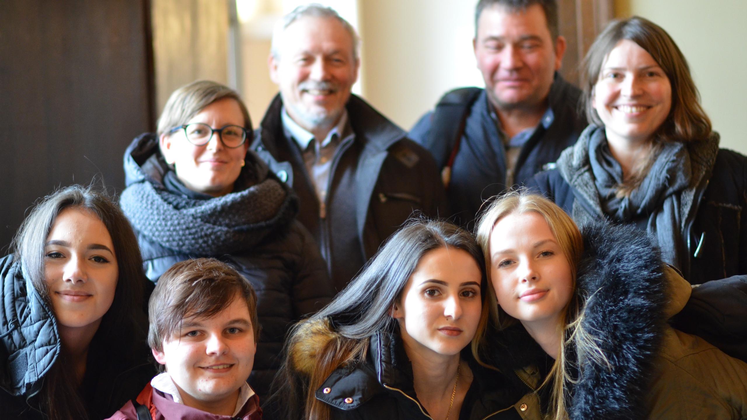 Die Gruppe des RSI Eupen im Benelux-Parlament