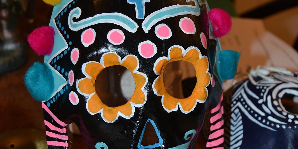 Sugar Skull Mask Decorating Open Studio