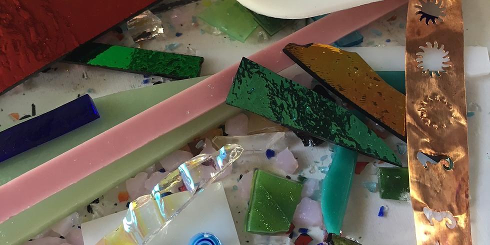 Fused Glass Jewelry or SunCatcher (Saturday)