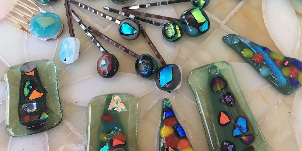 Holiday Fused Glass  (Evening)