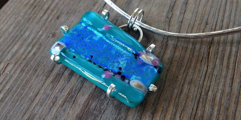 Fused Glass Jewelry or SunCatcher (Thursday evening)