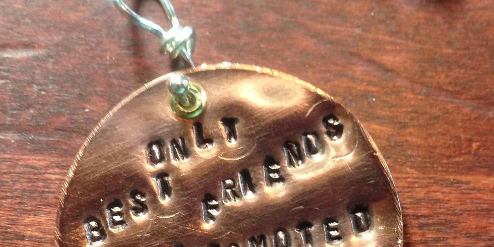 Metal Stamping Dog Tag Jewelry
