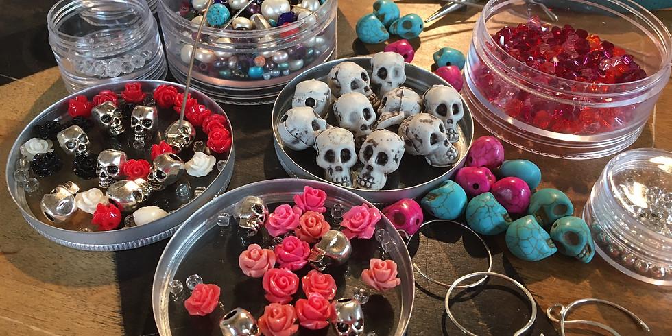 Sugar Skull & Jack-O Jewelry