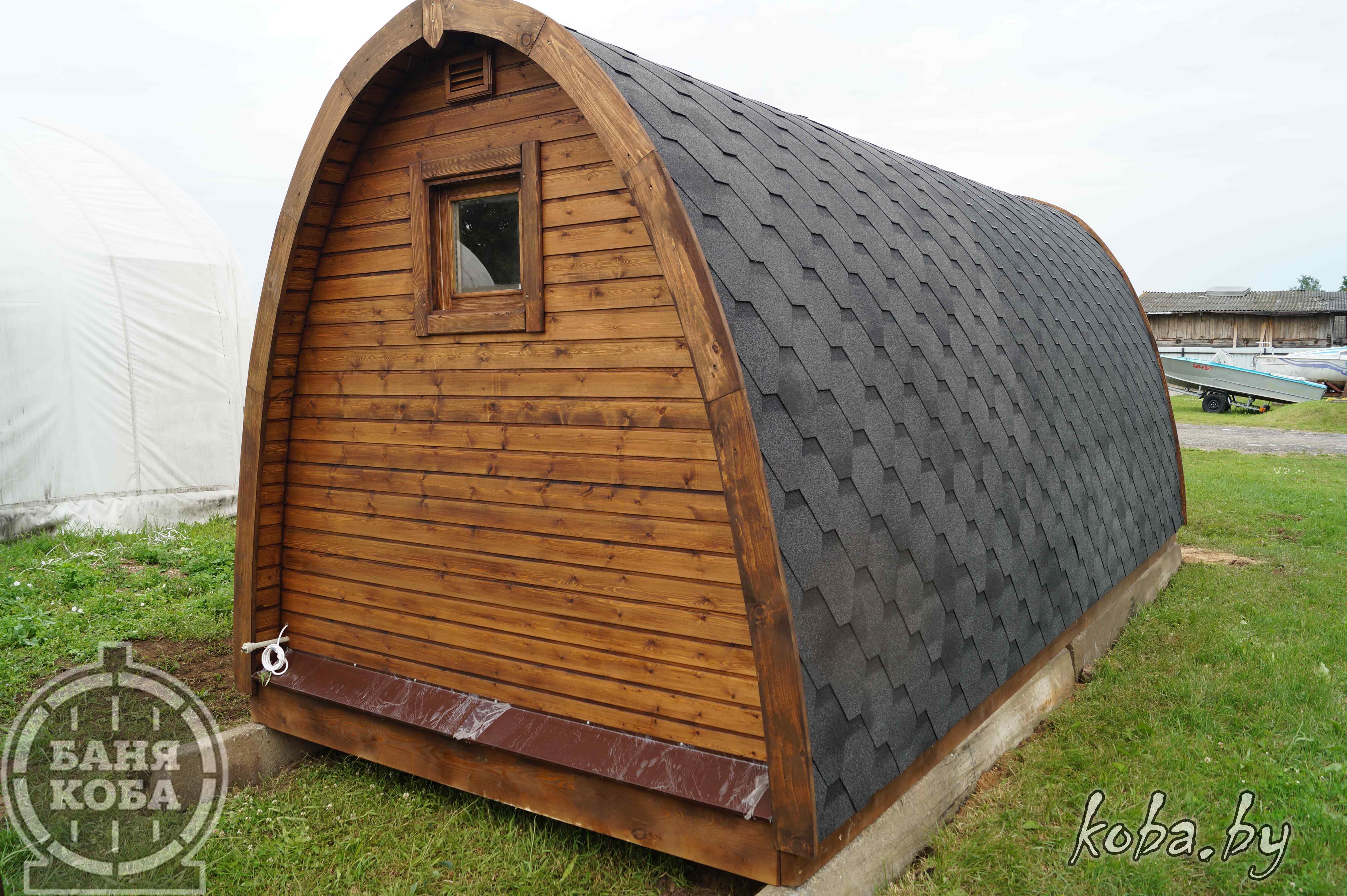 Арочный домик