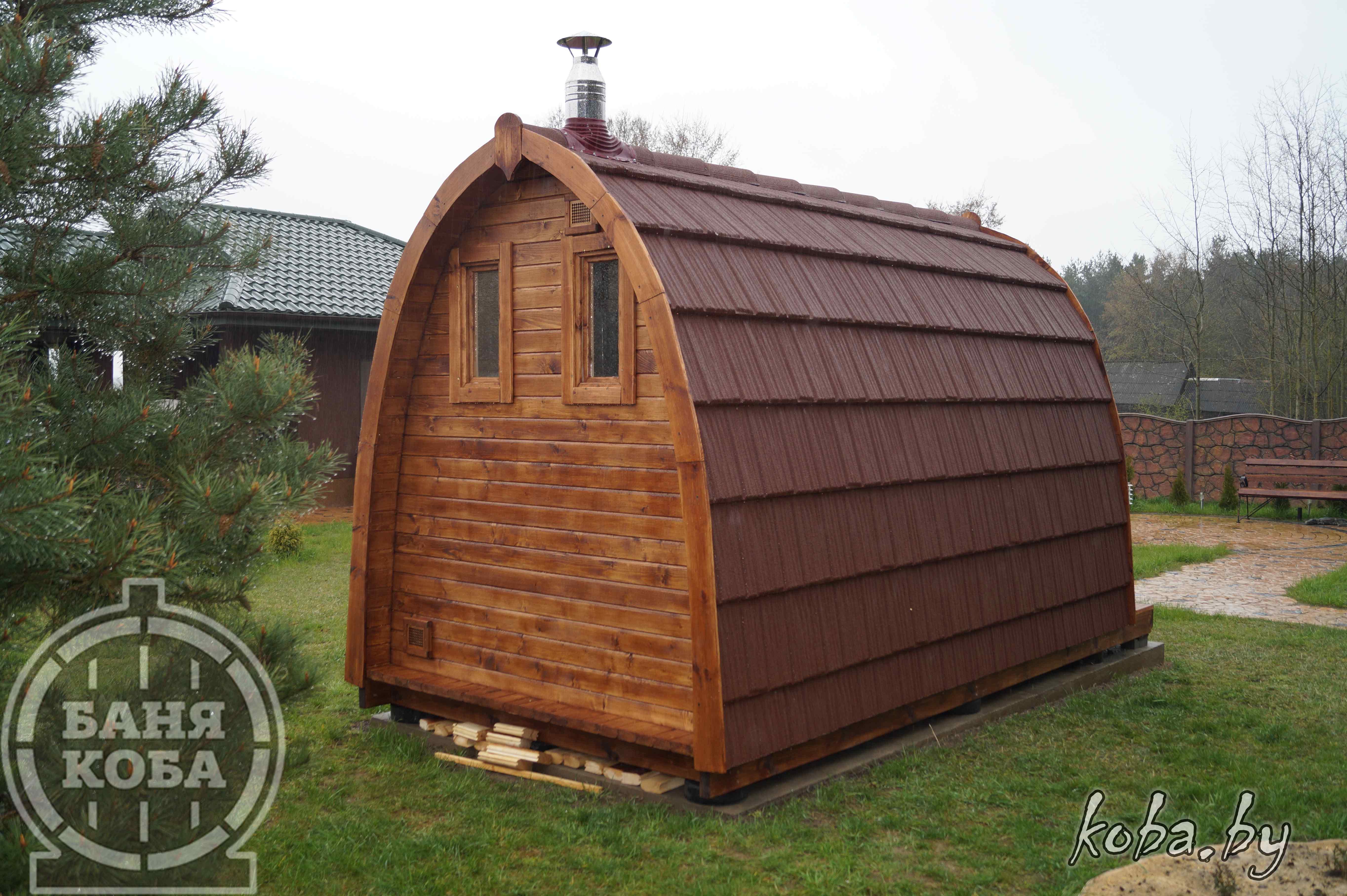 Арочный домик Викинг