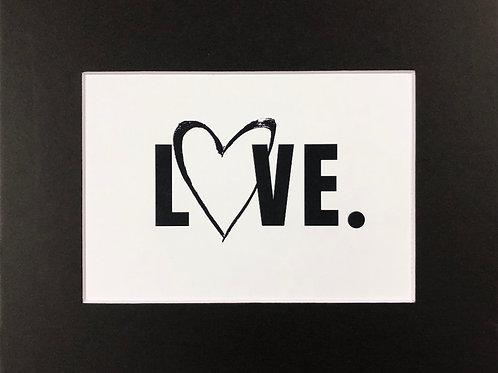 LOVE. Print