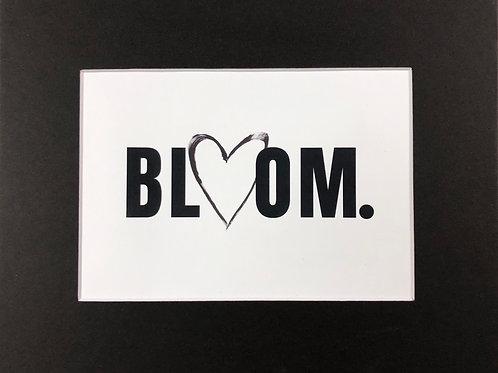 BLOOM. Print