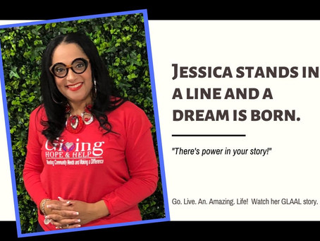 GLAAL - Jessica Stands In A Line & A Dream Is Born