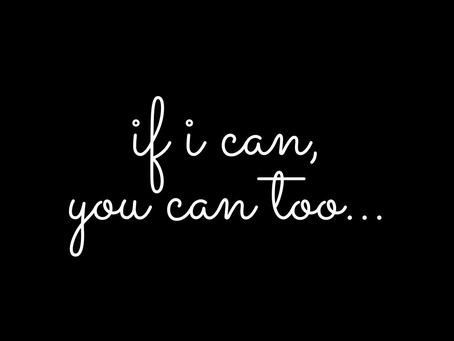 If I Can, You Can Too! I Sing...