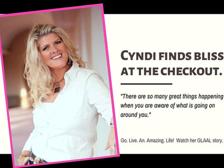 GLAAL - Cyndi Finds Bliss At The Checkout