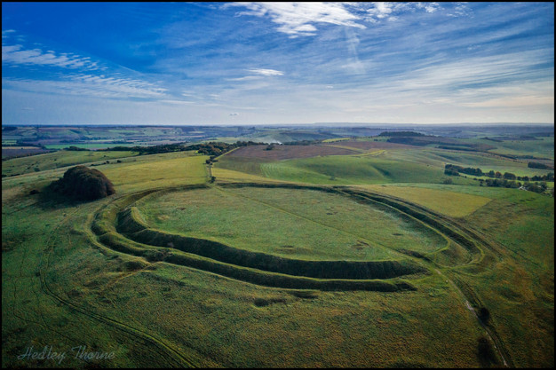 Barbury Castle Hill Fort