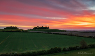 Wittenham Clumps Sunrise