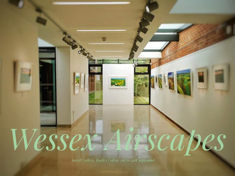 """""""Wessex Airscapes"""" Exhibition with Anna Dillon is now closed!"""