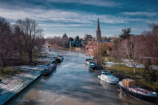 Abingdon on Thames in Winter