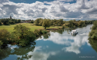 The Thames in Summer at Appleford