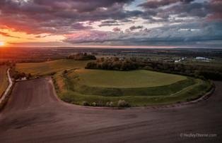 Wittenham Clumps Sunset