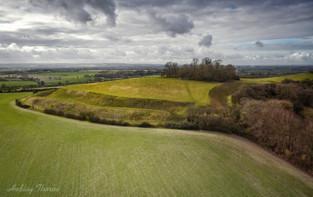Wittenham Clumps, Castle Hill