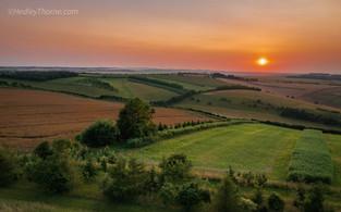 Unhill Woods Sunset
