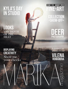 MARIKA MAGAZINE ISSUE 119 - Fine-art-1