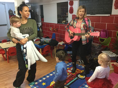 Music presentation with Miss Jocelyn