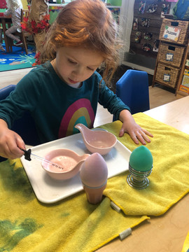Montessori fine motor activity