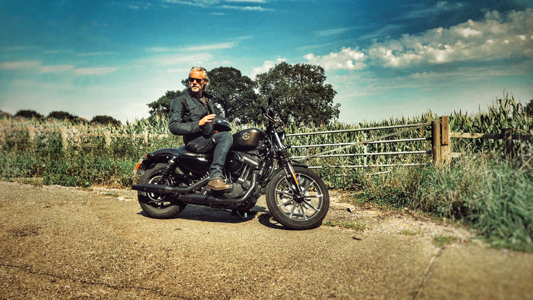 Harley Davidson's Iron 883