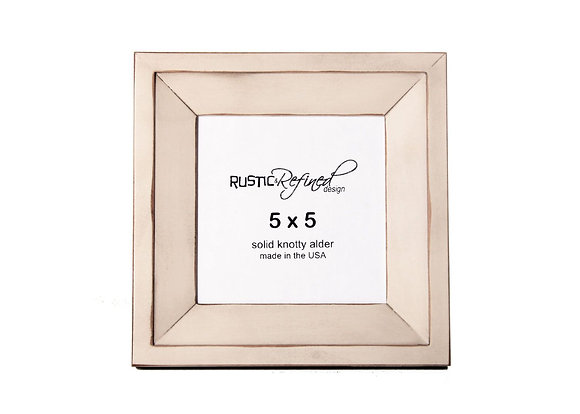5x5 Haven picture frame - Off White
