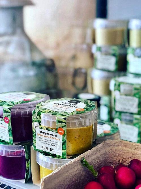 Organic Hemp Hummus 190g x 6