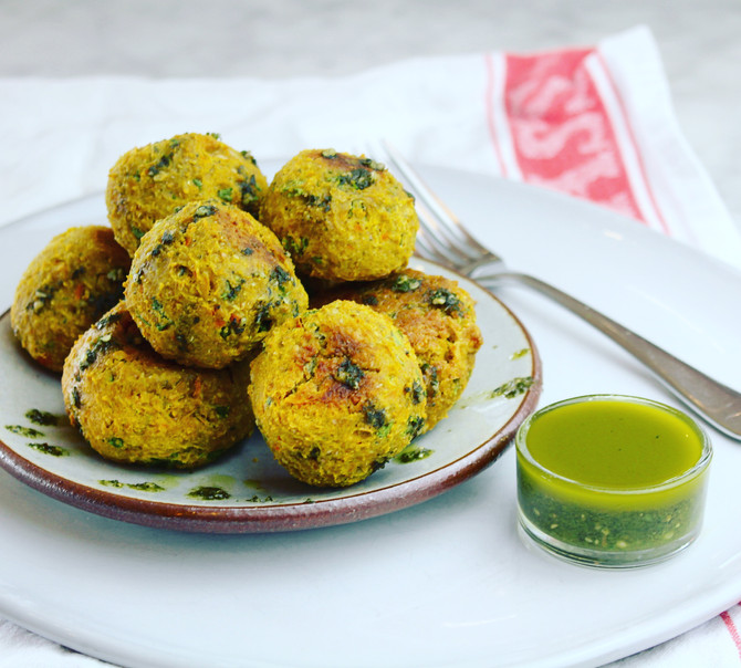 Hemp Hummus Falafel - Serves 2 to 4
