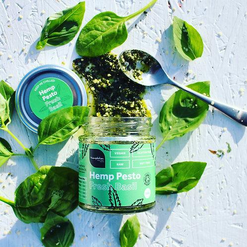 Raw Hemp Pesto Basil Organic Vegan