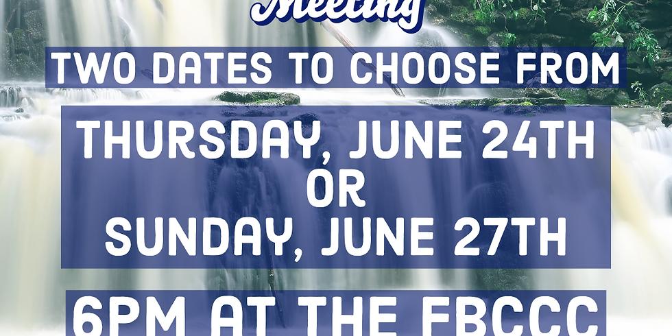 Falls Creek Parent-Camper Meeting