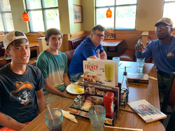 Breakfast with the guys!