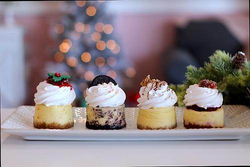Holiday Cheesecake Sampler (4pk or dozen)