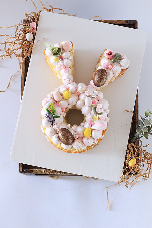 Bunny Silhouette Cake