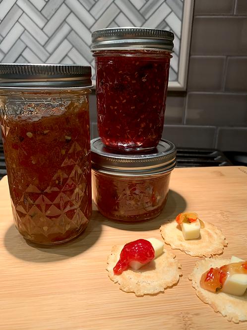 Raspberry Jalapeño Jam
