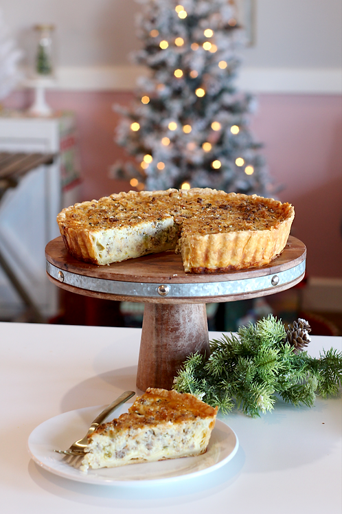 Christmas Morning Quiche