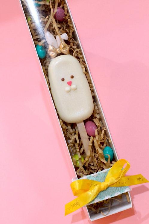 Bunny Cakesicle Basket Stuffer