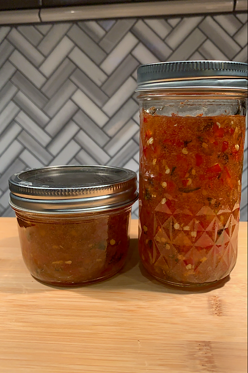 Sweet & Spicy Pepper Jelly