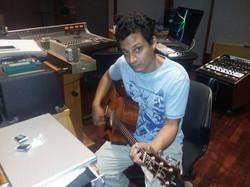 Recording at Forward Studios 2