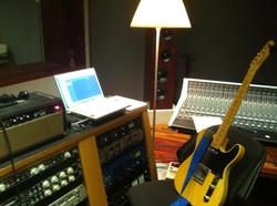 Recording at Forward Studios 1