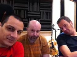 With Emmanuel Maccarrone and Massimo Roccaforte