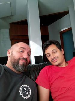 With Primiano Di Biase